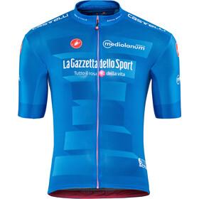 Castelli Giro d'Italia #102 Squadra Maglietta a maniche corte Uomo, azzurro